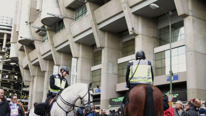 Cortes de tráfico el domingo en el entorno del Bernabéu