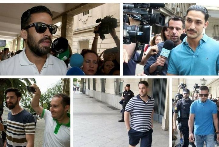 Las Fiscalía pide el ingreso inmediato en prisión de los miembros de La Manada