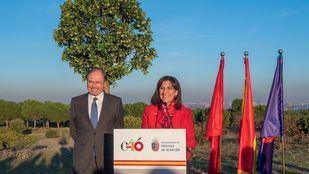 Un árbol para conmemorar los 40 años de la Constitución en Pozuelo