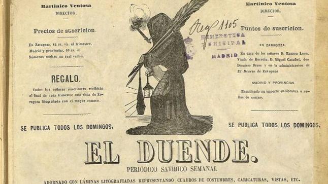 El Duende, uno de los imitadores del Duende Satírico de Madrid.