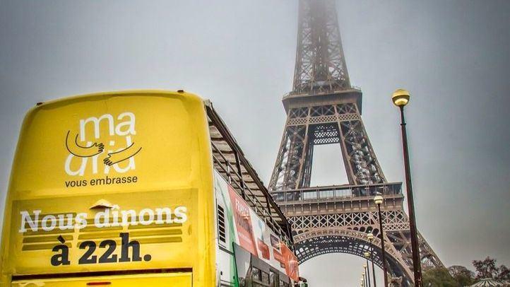 Publicidad de Madrid en París.