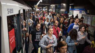 Normalidad en la primera jornada de huelga en Metro