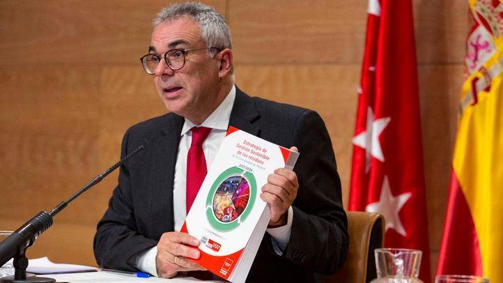 Carlos Izquierdo, consejero de Medio Ambiente, el día que el Consejo de Gobierno aprobó la Estrategia de Residuos.