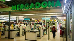 Mercadona en el Mercado de San María de la Cabeza.