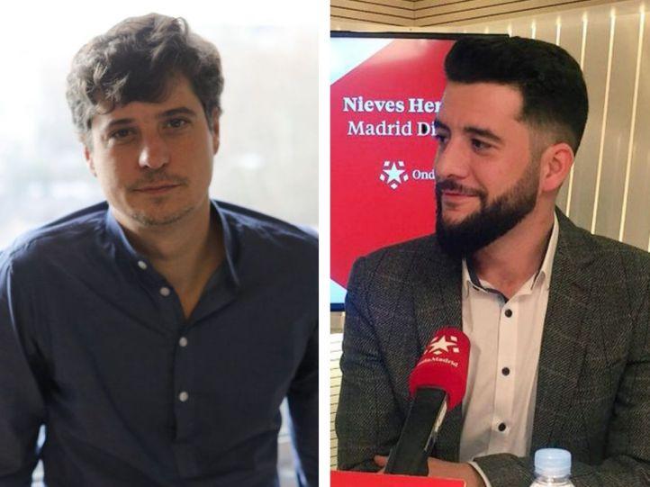 Miguel Ongil y César Zafra