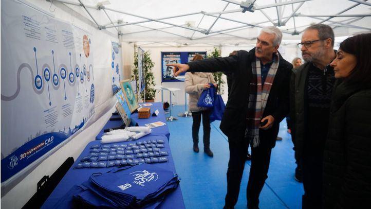 El delegado del Área de Salud, Seguridad y Emergencias del Ayuntamiento de Madrid, Javier Barbero, ha asistido a los actos de conmemoración del 30 aniversario de los Centros de Atención a las Adicciones (CAD).