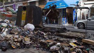 El Ayuntamiento contabiliza más de 3.000 contenedores quemados en 2018.