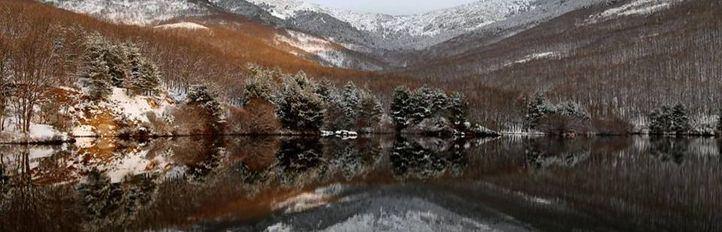 El frío y el viento alcanzan la Sierra