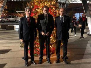 Garrido muestra sus logros a Rajoy ante las dudas del PP sobre su candidatura