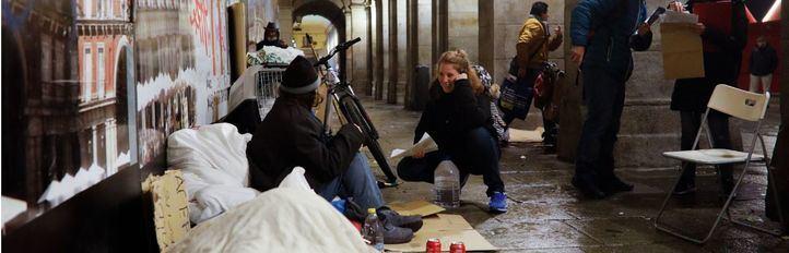 Madrid cuenta (y recuenta) el 'sinhogarismo'