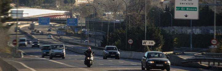 El tráfico en la M30 y el interior de la ciudad se redujo un 5%