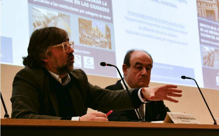 El director General de Transportes de la Comunidad de Madrid, Pablo Rodríguez Sardinero.