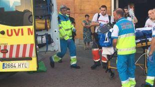 Los equipos de emergencias 112, en una imagen de archivo.