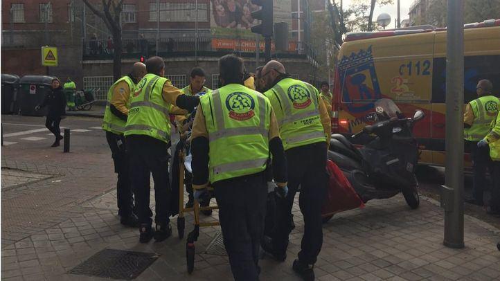 Herido grave un hombre de 80 años al ser atropellado en Chamberí