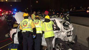 Fallece un joven de 20 años en una colisión en Méndez Álvaro
