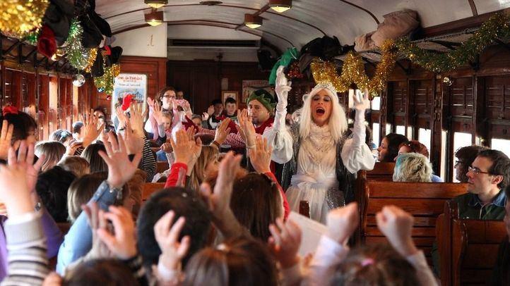 ¿Quiere viajar en el Tren de Navidad?