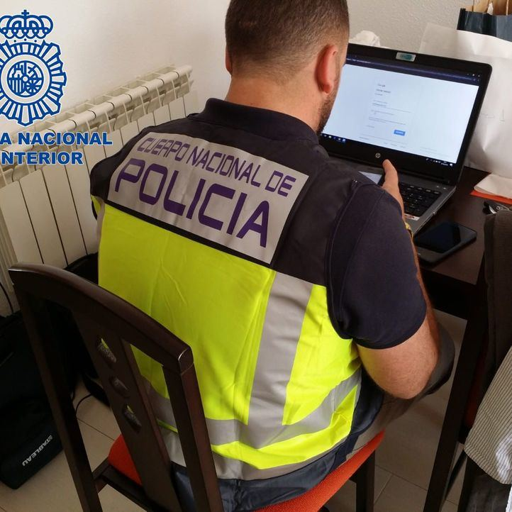 Efectivo de la Policía Nacional, en una imagen de archivo.