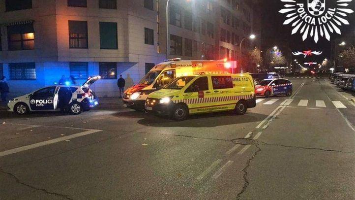 Las dos víctimas fueron trasladadas al hospital con pronóstico reservado