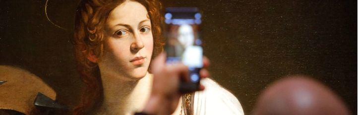 El Thyssen restaura la 'Santa Catalina' de Caravaggio