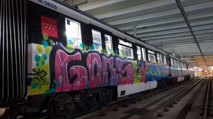 En lo que va de año se han realizado más de 500 denuncias por pintadas en Metro.