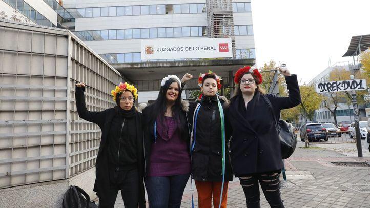 Recurrida la absolución de las activistas de Femen por