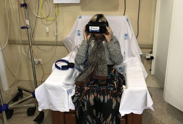 Realidad virtual para sobrellevar la quimioterapia