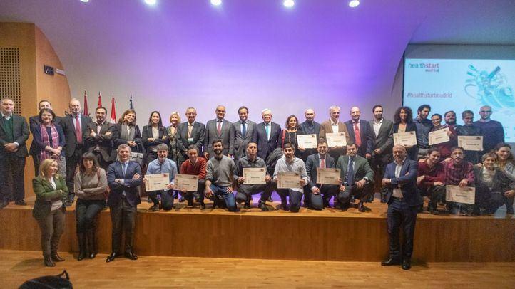 Entrega de los premios Healthstart de la Fundación para el Conocimiento Madri+D.