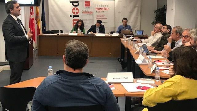 Finaliza con éxito la primera convocatoria de especialización de mentores en el apoyo a empresas en dificultades