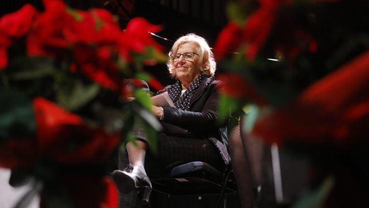 Carmena apela a la amabilidad en redes sociales en su felicitación navideña