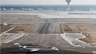 La ampliación del aeropuerto empieza a comerse terrenos de Barajas