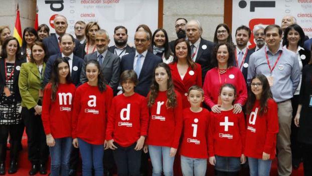 El equipo de la Fundación para el Conocimiento madri+d.