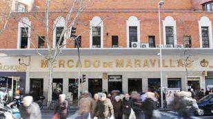 El mercado, de gran tradición en la capital, se ubica en el distrito de Tetuán.