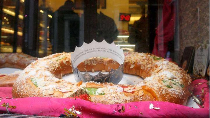 Roscón de Reyes en el Horno San Onofre.