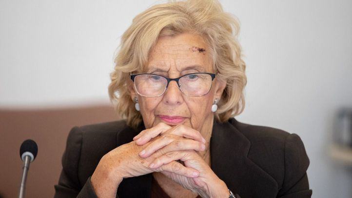 VOX Chamberí ironiza las caídas de la alcaldesa