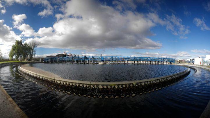 La de Majadahonda es una de las 157 depuradoras que Canal de Isabel II opera en la Comunidad, como la de Arroyo Culebro, en la imagen.