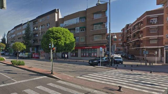 Avenida de España, en Alcobendas.