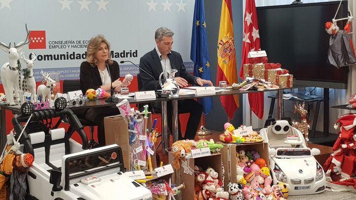 La Comunidad retira por peligrosos casi 10.000 productos navideños