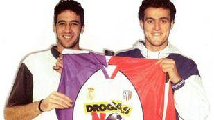 El día que Atlético y Real Madrid unieron escudos para disputar un partido