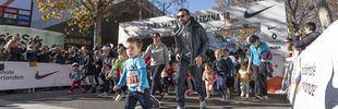 San Silvestre Mini: una fiesta del deporte muy solidaria