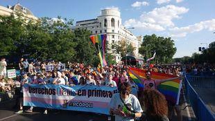Marcha del Orgullo 2018.