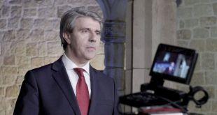 Garrido aprovecha su mensaje navideño para volver a postularse como candidato