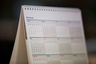 El calendario laboral de 2019 trae consigo dos macropuentes