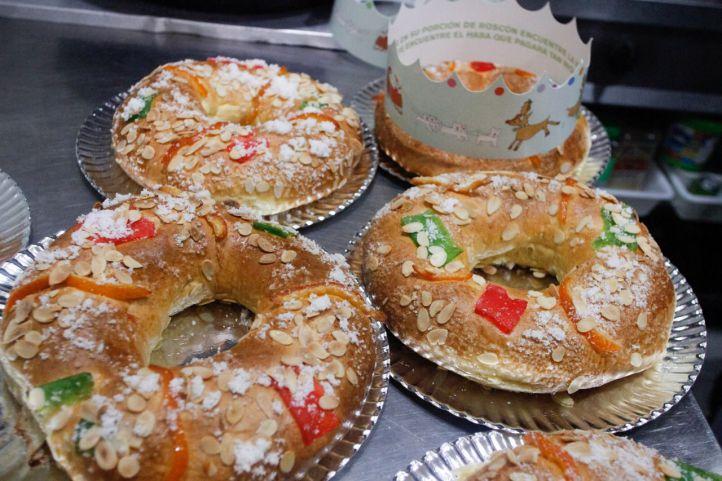 Cada madrileño consumirá 260 gramos de roscón de Reyes