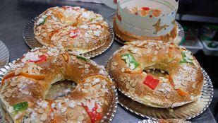 En la Comunidad de Madrid se venderán este año 2,5 millones de roscones de Reyes, según estimaciones del sector.