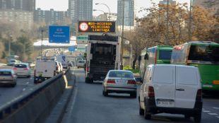 Madrid mantiene el escenario 1: velocidad reducida en la M-30