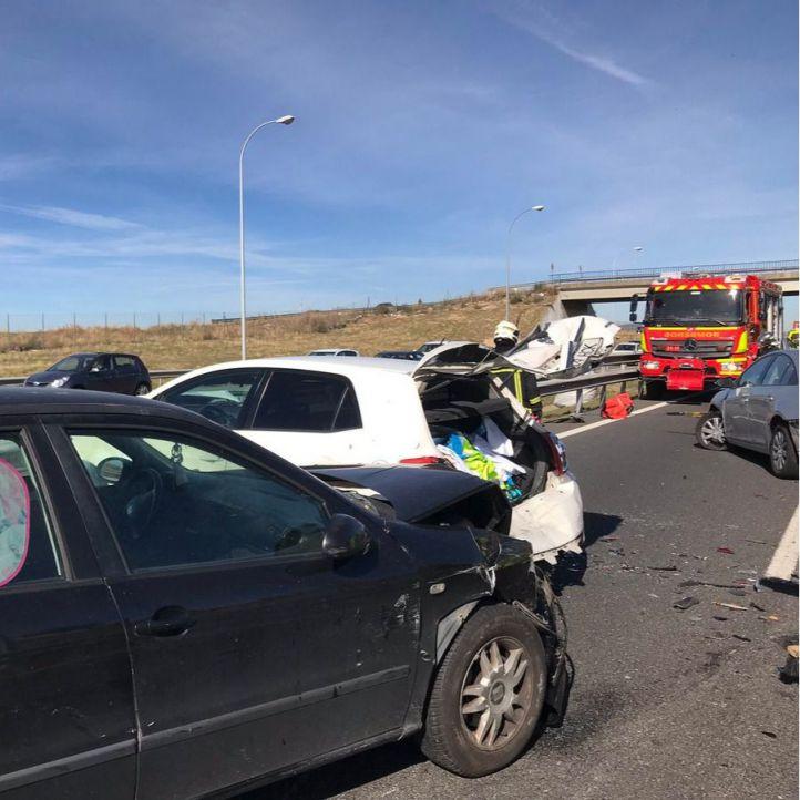 Madrid registra 20 fallecidos menos en accidentes de tráfico que en 2017
