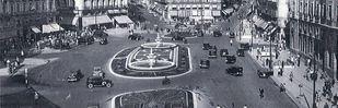 Las primeras fuentes gemelas de la Puerta del Sol