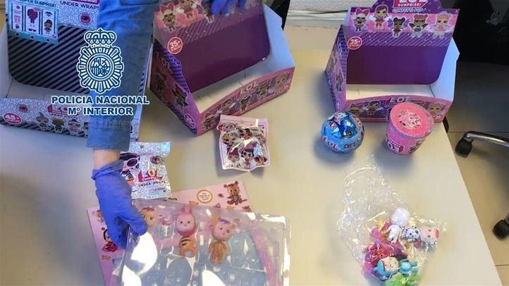 Más de 172.000 juguetes han sido incautados.