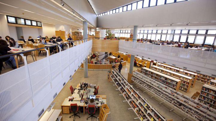 Nuevos horarios en las bibliotecas de la Comunidad para los estudiantes