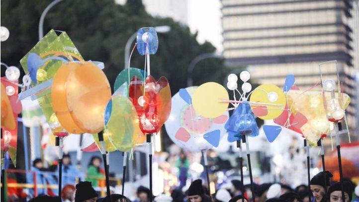 Un discurso a favor de la inclusión y los sueños, guinda de la Cabalgata del arte